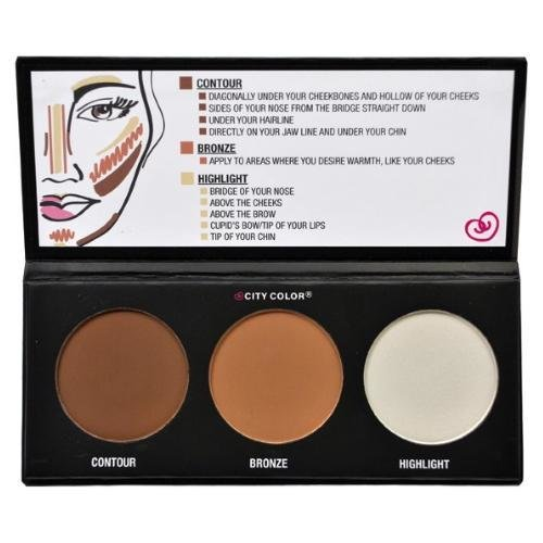 Contour Palette - City Color كونتور باليت