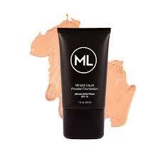 ML-LMPF Liquid Mineral foundation Pale Beige فونديشن
