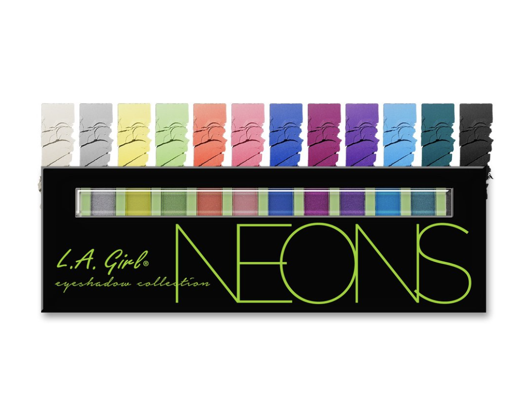 GES334 BEAUTY BRICK EYESHADOWS - Neon ظلال عيون