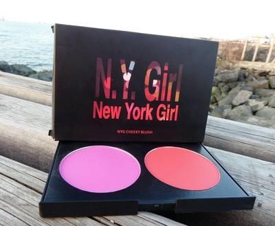 NYG 2 color blush CHEEKY BLUSH بلش باليت