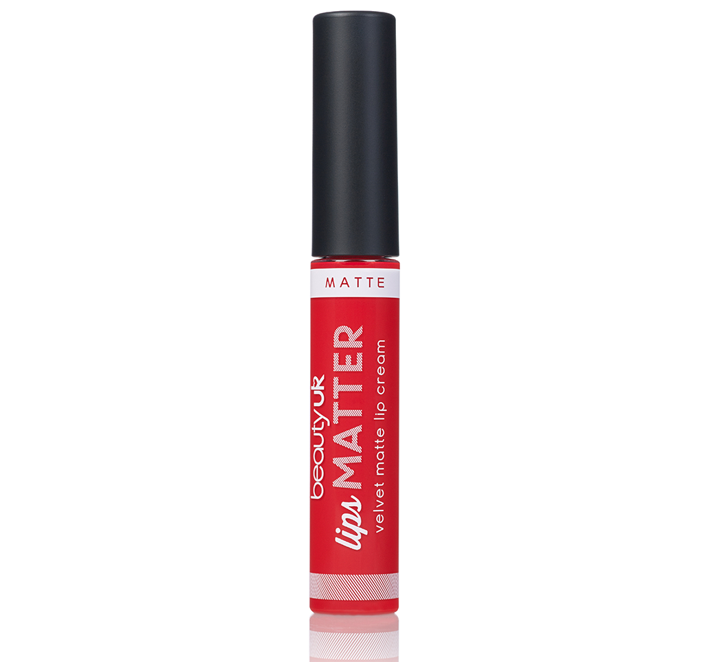 BE2164-2 Lips Matter - Radical red حمرة سائلة مات