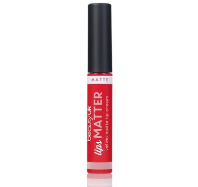 BE2164-2 Lips Matter - Radical red حمرة سائلة مات