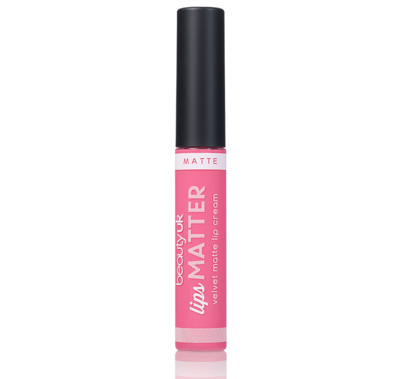 BE2164-6 Lips Matter - Nudge Nudge Pink Pink حمرة سائلة مات