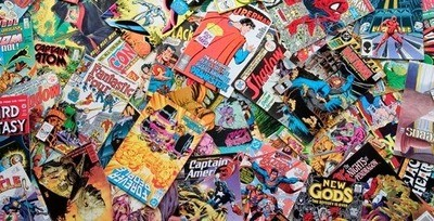 Clearance! 50 Comic Book Mystery Box (50 Random Comics) Various Publishers Bronze to Modern Age