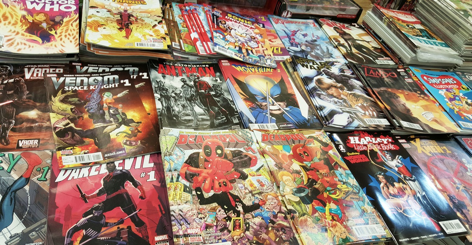 Comic Book Mystery Box (12 Comics! Could include Bronze, Copper, Modern, Signed, Variants)