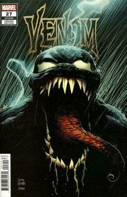 Venom 27 1st Full Appearance of Codex Stegman Variant Cover