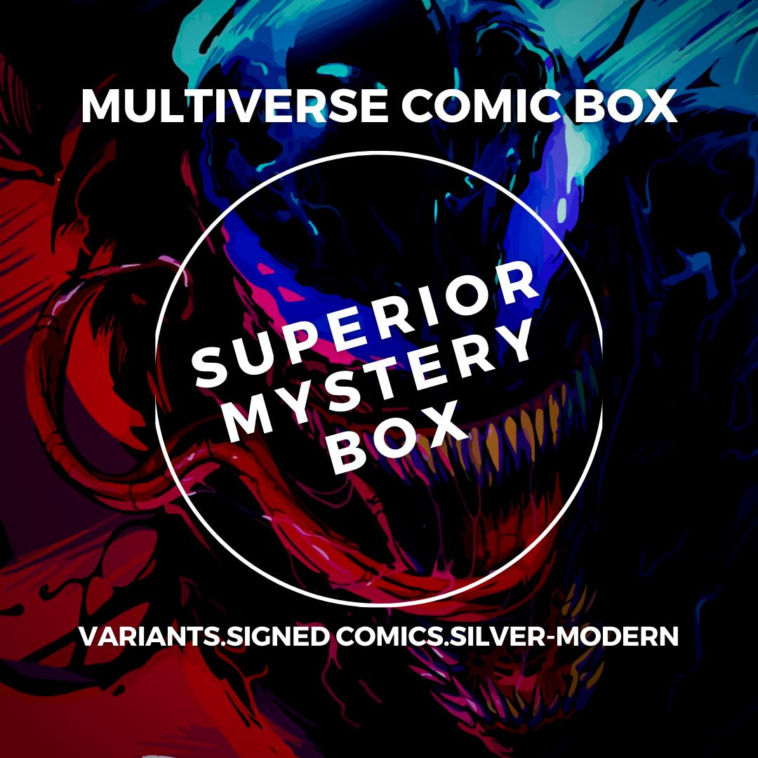 Superior Comic Book Mystery Box