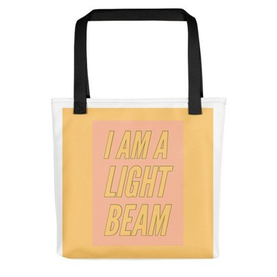 I Am A Lightbeam - Tote bag