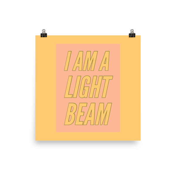 Light Beam - Poster