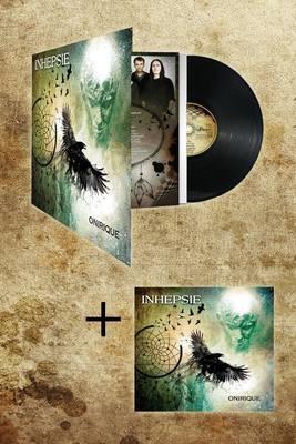 "Disque Vinyle 33 Tours + Album Digipack ""Onirique"""