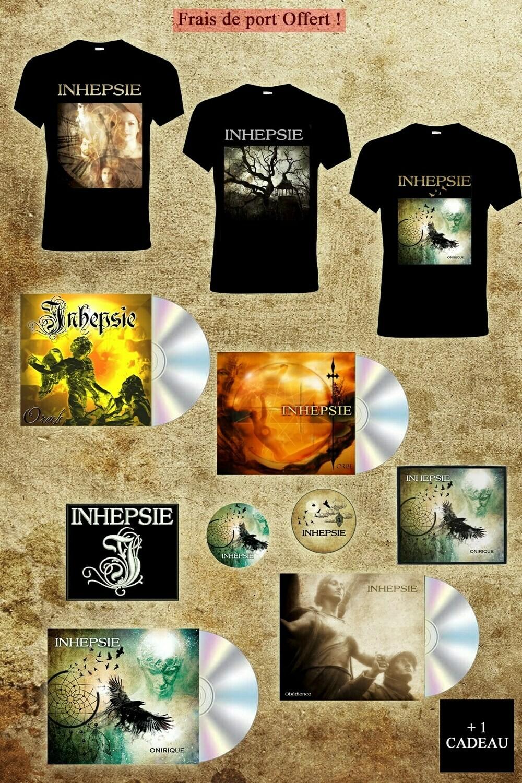 "Pack ""Inhepsie"" (Sans Vinyle)"