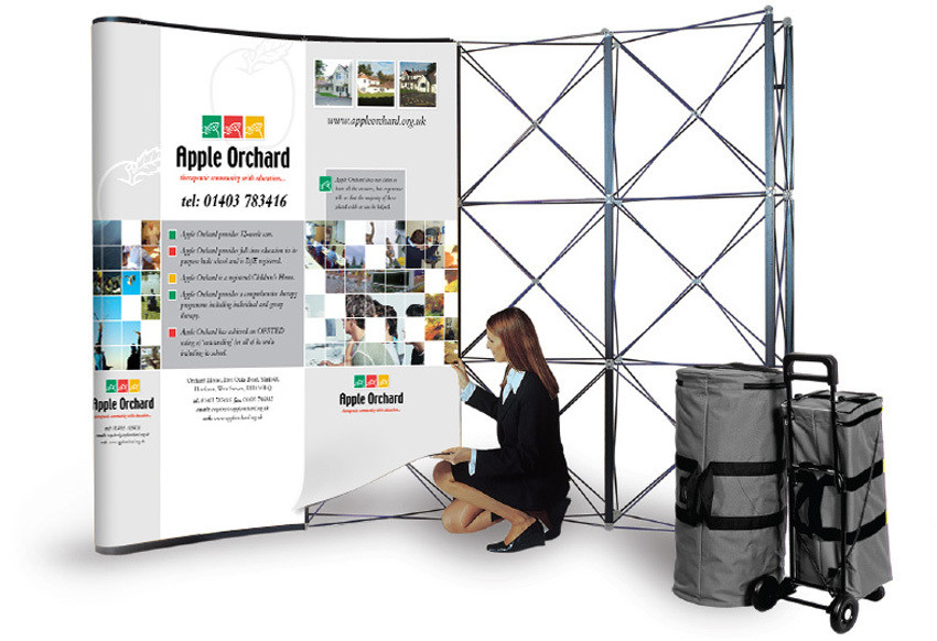 POP UP Stand   Size 3 * 2