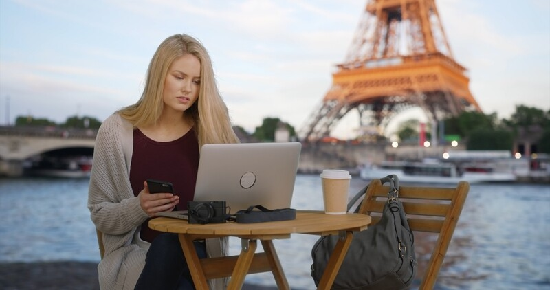 French Writing by a native speaker