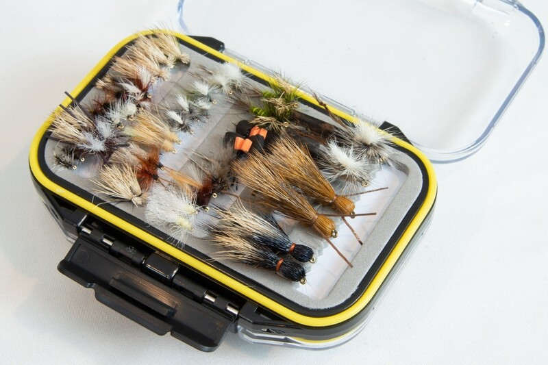 Yellowstone Trout Fly Fishing Fly Box (80 Flies)- FREE SHIPPING