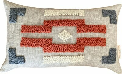 Punch Needle Ndebele Pattern 3