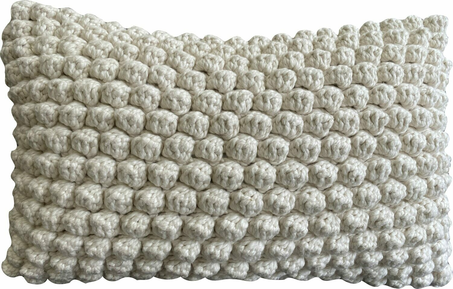 Naturals - Bobble Cushion - Natural