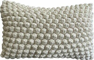 Naturals - Bobble Cushion - Natural