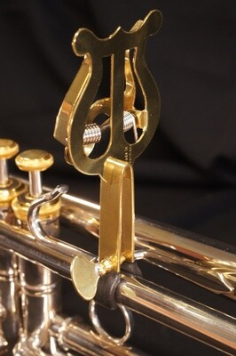 Lyre pince pour trompette