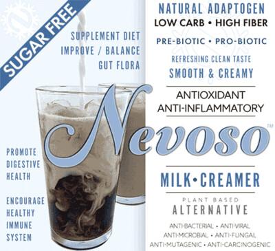 DF Veggie Milks - Nevoso DR3 - 3g  Dietary Fiber per serving -  (1 pack) (4-6 cups) - ANTI-Viral -BOOST IMMUNE SYSTEM- Anti-inflammatory - Antioxidant - DariFree Milk Alternative VEGAN KETO