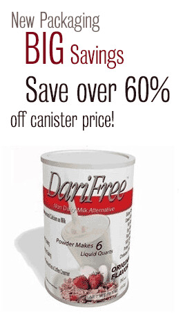 DariFree Can - NEW DF PACKAGING - Save over 60% - Canisters have been replaced with 4 pack bundle (equals one can) Save over 60%