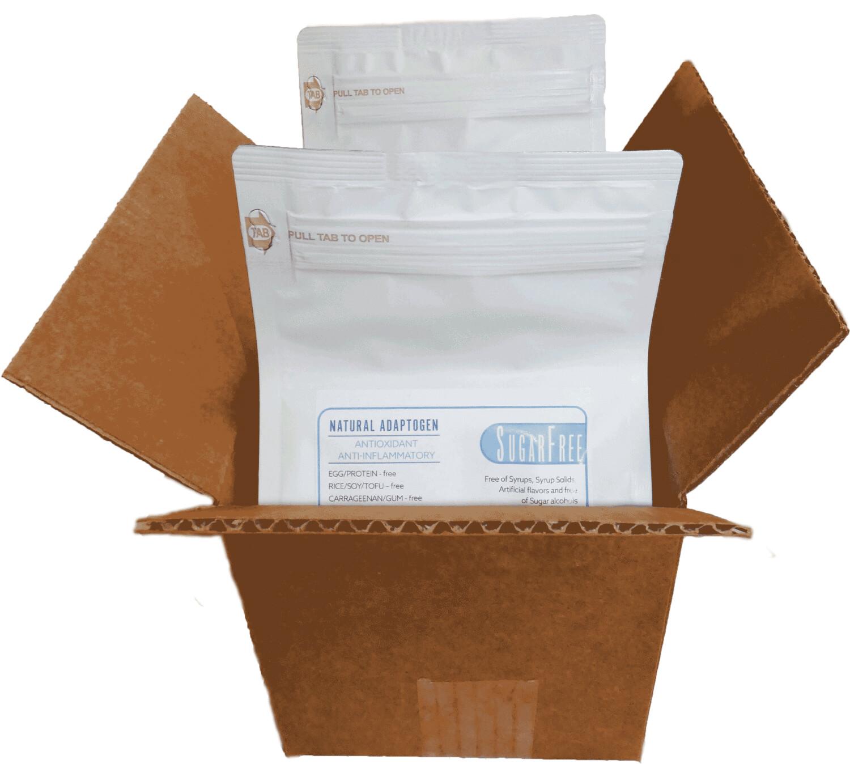 DF SWEET Milk/Creamer TWO(2) 1Kg Resealable Bag (Makes 14-18+ quarts) SugarFree DariFree - ANTI-Viral -BOOST IMMUNE SYSTEM- Anti-inflammatory - Antioxidant - Sugar-Free Dairy-free  Milk Alt. VEGAN