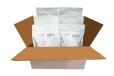 (RCASE) -SugarFree DariFree Milk Alternative - SIX(6) Resealable Pouches (Makes 6 quarts ea.) - ANTI-Viral -BOOST IMMUNE SYSTEM- Anti-inflammatory - Antioxidant AntiViral VEGAN