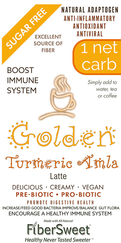 -- Golden Latte --   NEVOSO 1 Net Carb ANTI-Viral -BOOST IMMUNE SYSTEM-  Anti-inflammatory - Antioxidant - Dairy-Free Creamer - Sugar-Free Dairy-Free - Smooth and Creamy VEGAN KETO