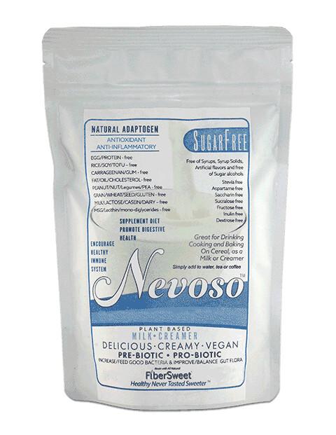 SugarFree DF Veggie Milk DFSF Resealable Pouch (Makes 6 Qts) Milk Sub for most Uses & Recipes - BOOST IMMUNE SYSTEM Anti-inflammatory AntiViral Antioxidant SugarFree DairyFree GFCF VEGAN