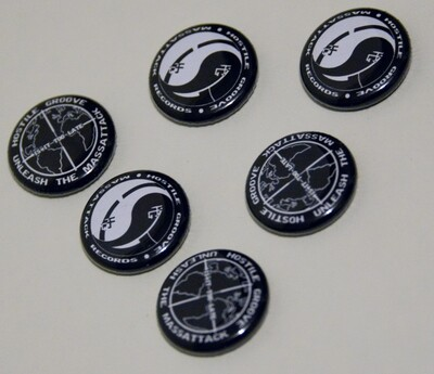 Hostile Groove Pin Buttons