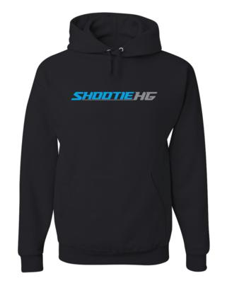 Shootie HG Black Hoodie w/Blue Logo