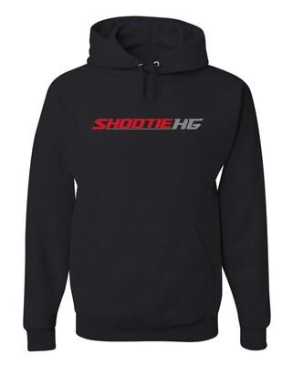 Shootie HG Black Hoodie w/Red Logo
