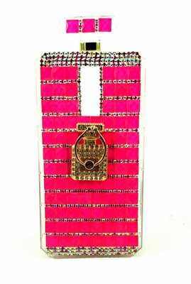 iPhone 6/7/8 Perfume Bottle w/ Ring Holder (Hot Pink)