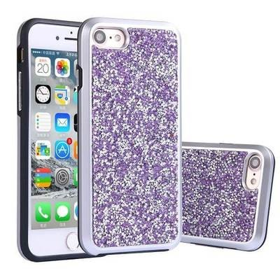 Electroplated Diamond Hybrid Series for iPhone 6/7/8 (Purple)