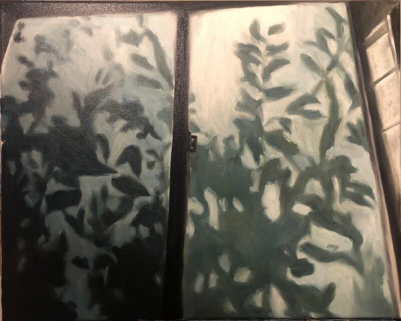 A Sigh - Oil on Canvas