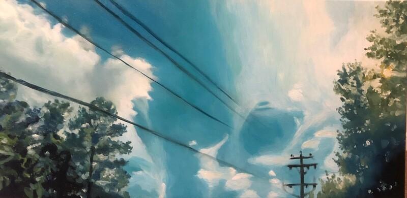 Sky - Oil on Canvas