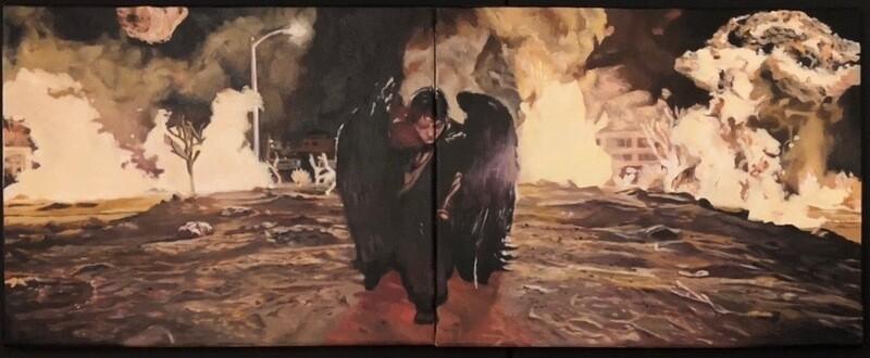 Lucifer - Oil on Canvas