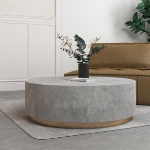 Industrial Cement Coffee Table
