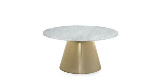 TROMSO BRASS | COFFEE TABLE
