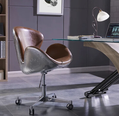 DUVAL FAUX LEATHER   CHAIR