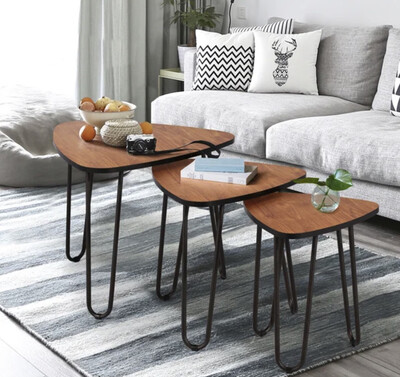 SET OF 3 UNION RUSTIC | COFFEE TABLE