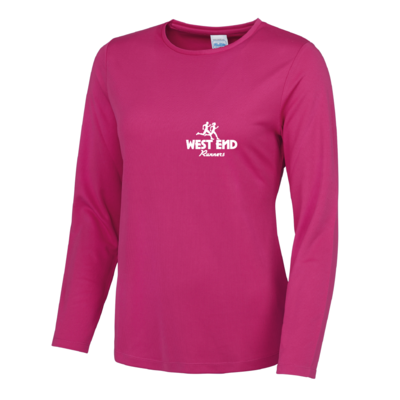West End Ladies Fit Long Sleeve Performance T-Shirt