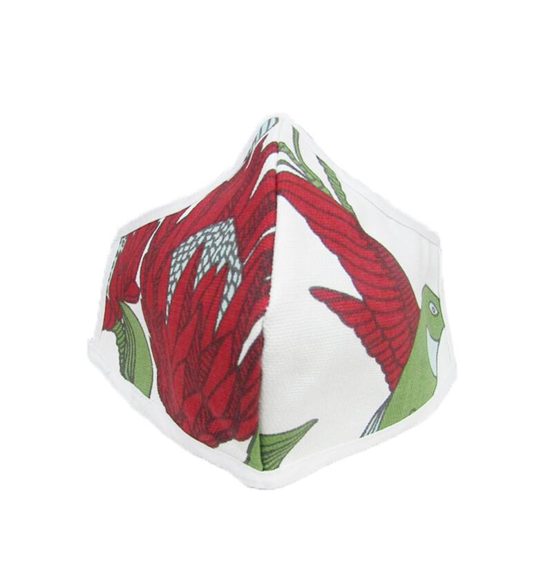 Protea Cream Shaped Mask