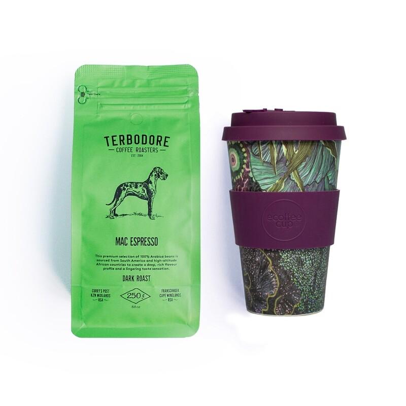 Ocean Espresso - Terbodore Mac Espresso Coffee & Ecoffee Cup Gift set