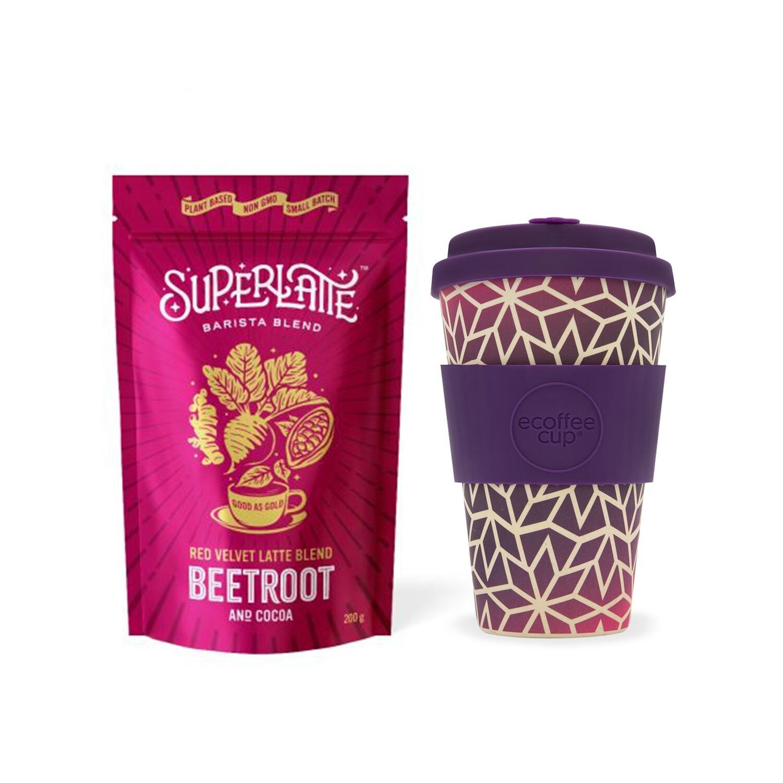 Pink Star - Superlatte & Ecoffee Cup