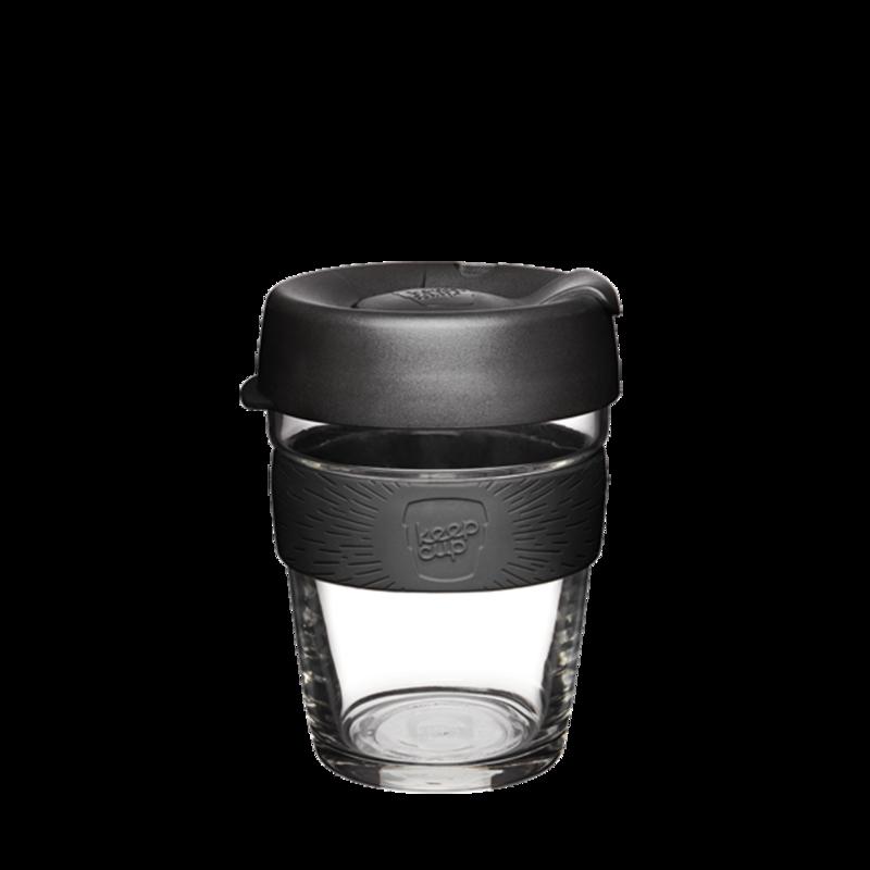 KeepCup Brew Reusable Glass 350ml Black