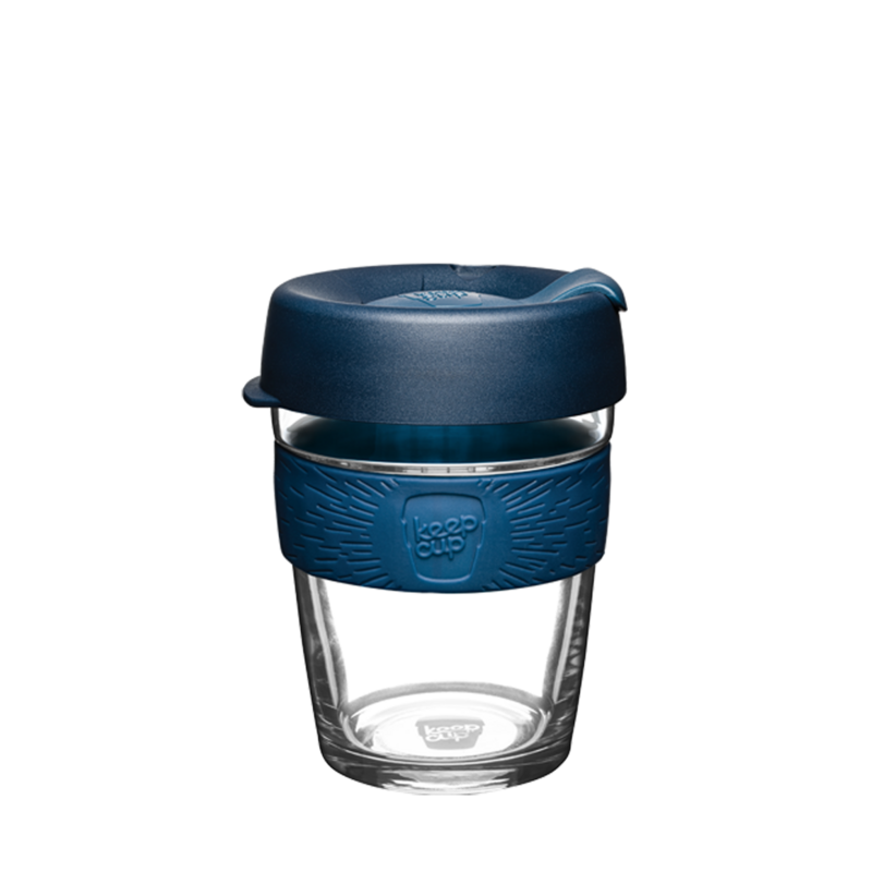 KeepCup Brew Reusable Glass 350ml Spruce