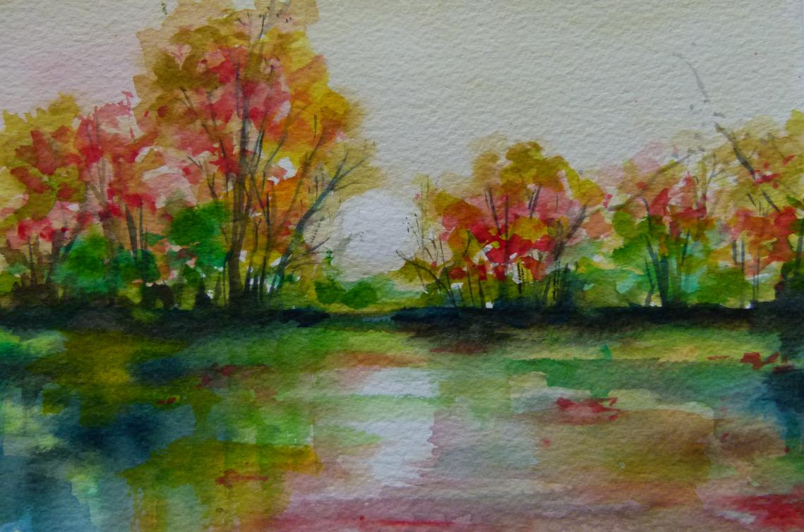 English Autumnal landscape