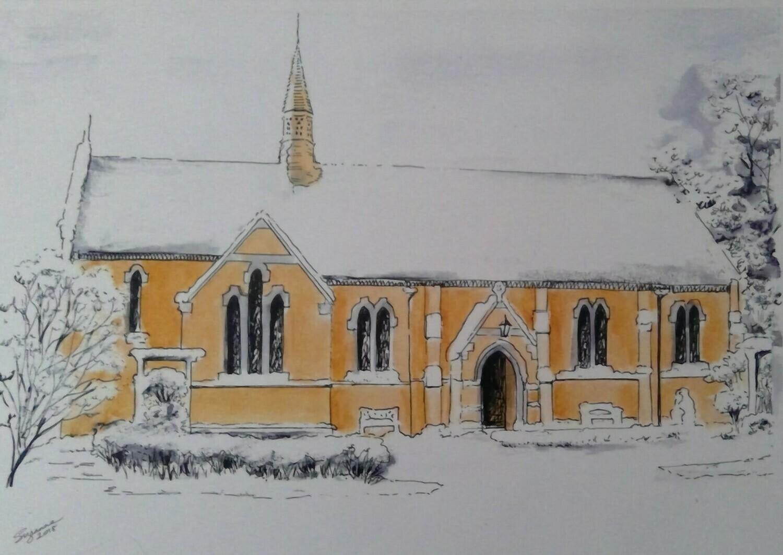 Gordon's Chapel in the Snow