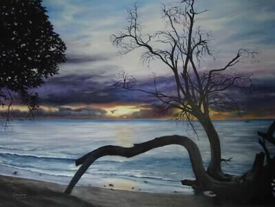 A Barbados Seascape
