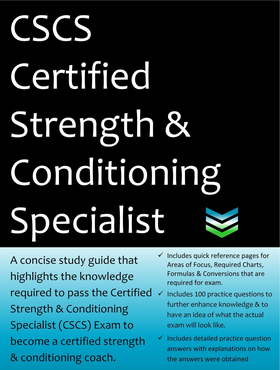 CSCS Certified Strength & Conditioning Specialist